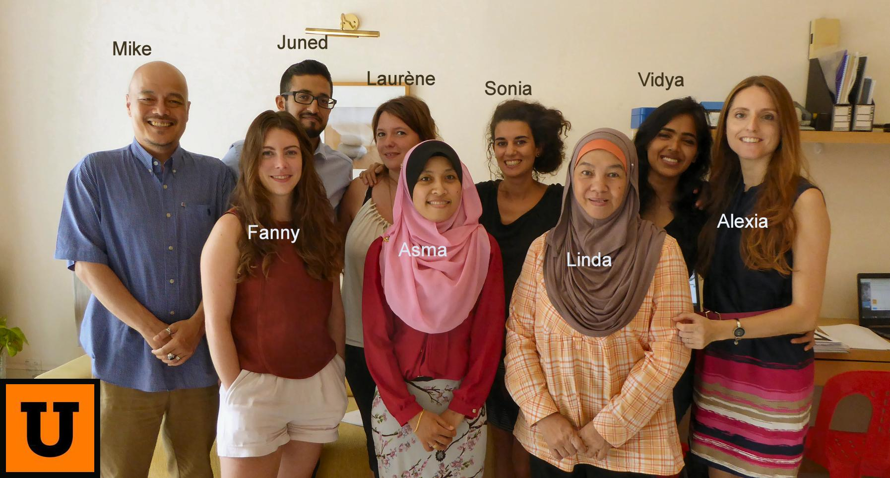 THE URBAN REFUGEES TEAM IN MALAYSIA