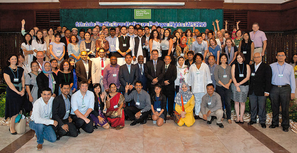 The 6th Asia Pacific Consultation on Refugee Rights (APCRR6) :